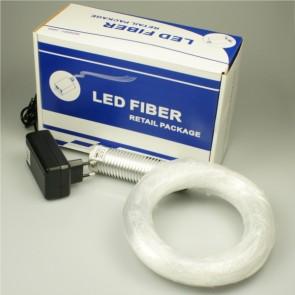 LED Lichtleiter-Set Kaltweiss, 3W, 90 Arme 1mm-32650