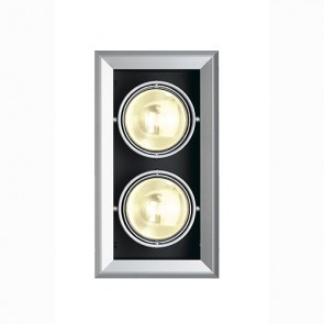 AIXLIGHT MOD 2 ES111, silber- grau-342154062
