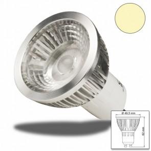 GU10 LED Strahler 6W COB, 70° warmweiss, dimmbar-32932