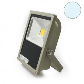 LED Fluter 50 Watt, kaltweiss, silber matt-38101