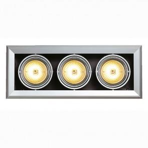 AIXLIGHT MOD 3 QRB111, silber- grau-342154032