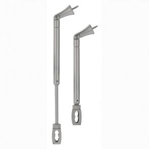 Flexibler EASYTEC II Deckenhalter Dachschrägen, silbergrau-342184332