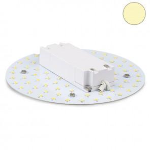 LED Umrüstplatine 160mm, 12W, mit Magnet, warmweiß-35350