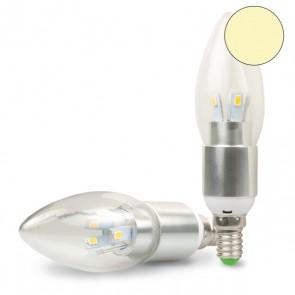 E14 LED Kerze klar, 5W, C35 warmweiss-35198