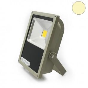 LED Fluter 70Watt, warmweiss, silber matt-35303