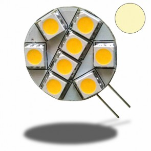 G4 LED Leuchtmittel, 8 SMD, 1W, Pin seitlich, warmweiss-32466