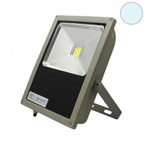 LED Fluter 100Watt, kaltweiss, silber matt-35304