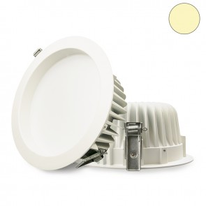 LED Einbaustrahler diffusor, 23W, weiß, warmweiß, dimmbar-32643