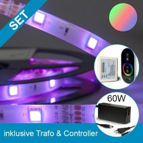 SET Silikon-Flexband + 60W Trafo + RGB Controller-39266