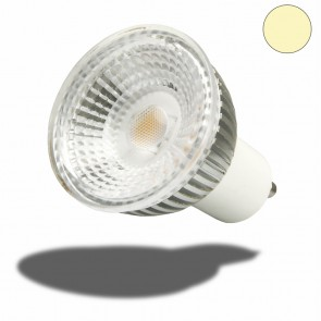 GU10 LED Strahler 5,5W GLAS-COB , 70° warmweiss-35241