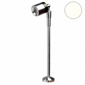 LED Vitrinen-Leuchte, silber, 3W 25°, neutralweiss-32611