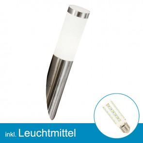LED Außenlampe BOSTON mit Leuchtmittel 7 Watt, neutralweiss-39293
