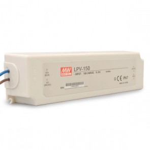 LED Trafo MW LPV 24V/DC, 0-150W, IP67-35695
