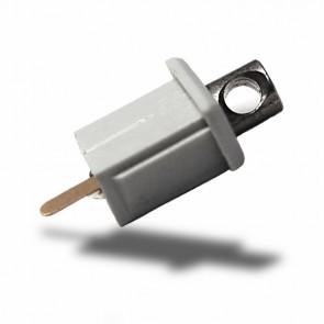 """Adapter/Endkappe mit Stromversorgung für Profil """"MICRO-ALU""""-32391"""