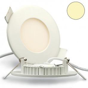 LED Einbaustrahler 3W, 120°, mit Trafo, weiß, warmweiß-35292