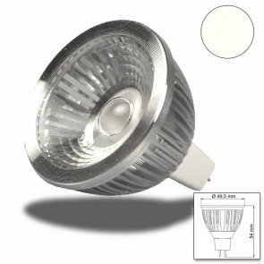 MR16 LED Strahler 6W COB, 38°, neutralweiss-32543