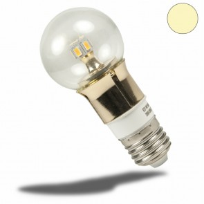 E27 LED Birne gold, 5 Watt, klar, warmweiss, dimmbar-35046