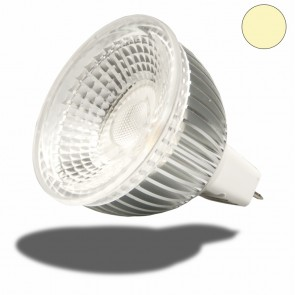 MR16 LED Strahler 6W GLAS-COB , 70° warmweiss dimmbar-35036