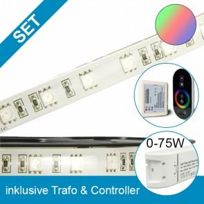 SET High End-Flexband + 75W Trafo + RGB Controller-39271