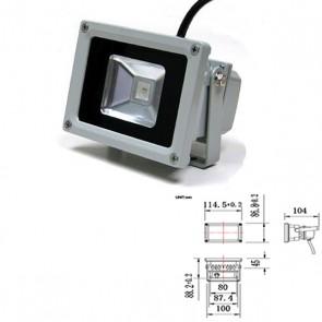 LED Fluter 10 Watt, kaltweiss, IP65, 10W-32064