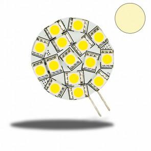 G4 LED 15SMD, 3W, warmweiss, G4 Pin seitlich-32617
