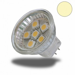 LED Strahler MR11 6 SMD, warmweiss-31068
