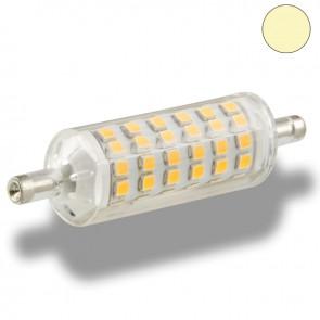 Retro R7s 5 Watt LED Stablampe, 72 SMD, 78mm, warmweiß-35673