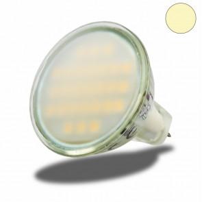 MR11 LED Strahler SMD27, 2Watt, Glas satin, warmweiss-35361