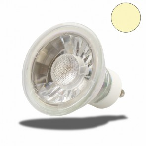 GU10 LED Spot Glas 5W COB , 40°, warmweiss-35341