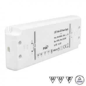 Trafo 12V/DC, 0-30W, ultraflach-35016