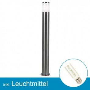 LED Außenlampe XELOO mit Leuchtmittel E27, 7 Watt, neutralweiss-39302