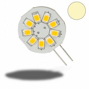 G4 LED 9SMD, 1,5W, warmweiss, Pin seitlich-32977