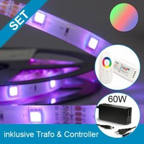 SET Silikon-Flexband + 60W Trafo + RGB Controller-39268