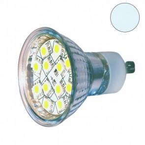 LED Leuchtmittel GU10 SMD12 1,6 Watt, weiss-31043
