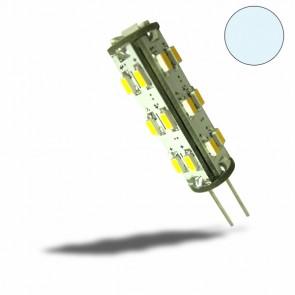 G4 LED 27 SMD, 1,3W, kaltweiss, rund-32458