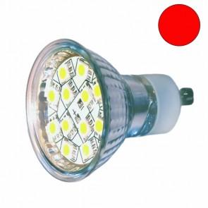 LED Leuchtmittel GU10 1,4 Watt, rot-31047