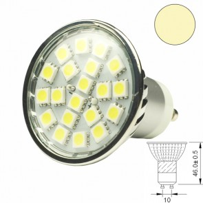 LED-Spotlight Strahler GU10 20SMD 3,6 Watt, warmweiss-31020