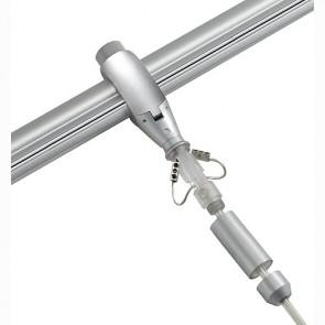 Pendelleuchtenadapter für EASYTEC II, silbergrau-342184292
