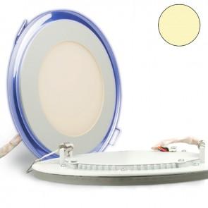 LED Effekt-Glas-Einbaustrahler 15W, 2-farbig, WARMWEIß/BLAU-35294