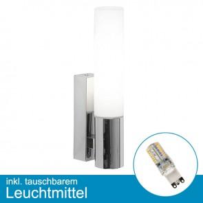 LED Wandleuchte MARINES mit tauschbarem Leuchtmittel G9, 2,5 Watt, warmweiss-39303