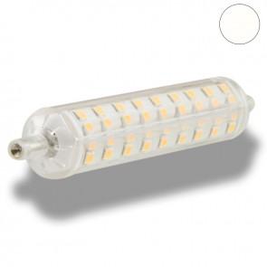 Retro R7S LED Stablampe, 8 Watt, 108xSMD, neutralweiß, 118mm-38157