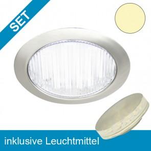 LED Einbauleuchte rund mit wechselbarem GX53 Leuchtmittel 3,5W-39234