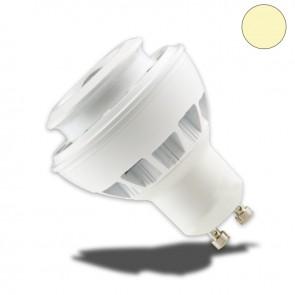 GU10 LED Strahler 5W COB fokusierbar 30°-80°, warmweiss, dimmbar-35041