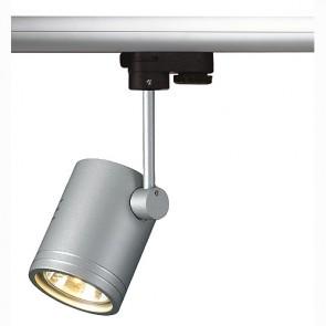 BIMA I Leuchtenkopf, silbergrau, GU10, 1x50W max., inkl. 3P.-Adapter,-342152242