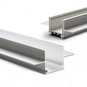 """Installationskanal für Einbauprofile """"Wing"""", L: 2000mm für 15mm Rigips-Platten-35589"""