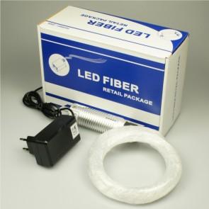LED Lichtleiter-Set RGB, 3x1W, 80 Arme 1mm-32647