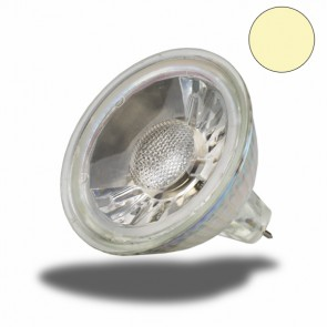 MR16 LED Glas-Spot 5W COB , 40°, warmweiss-35342