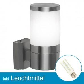 LED Außenlampe XELOO mit Leuchtmittel E27, 7 Watt, neutralweiss-39300