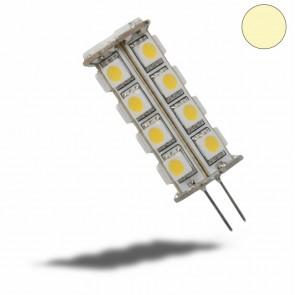 LED-Stiftsockellampe G,4 23SMD LEDs, 4,5W, warmweiss, rund-35251