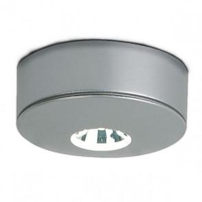 LED Möbelstrahler Ein-/Aufbau, 1W matt silber 50°, Kaltweiss-32195
